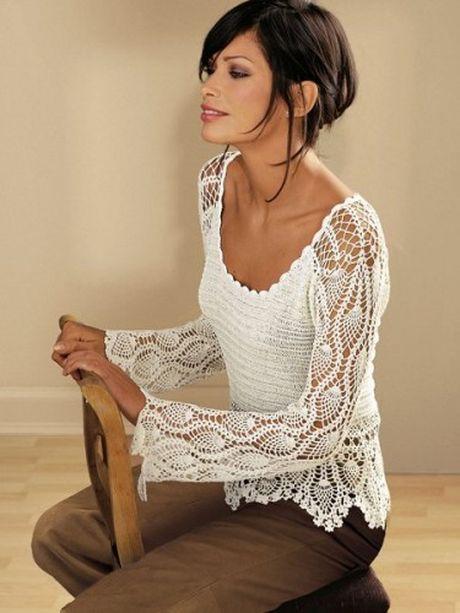 Блузка С Ажурным Воротником 24 Октября 2011