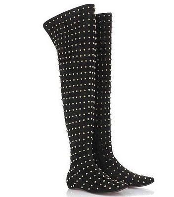 puanli bayan diz ustu cizmeler 2013 dizüstü bayan çizme modelleri