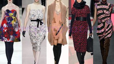 Sonbahar elbise modelleri