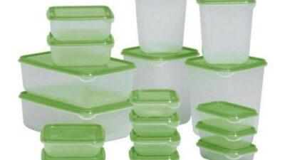 Plastik Saklama Kapları