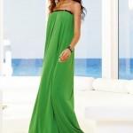 Günlük Giyilebilecek Uzun Elbise Modelleri