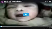 Suriye'de Doğan Bebeğin İlk Kelimesi ALLAH oldu