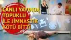 Canlı Yayında Topuklu ile Jimnastik Kötü Bitti