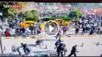 Ankara'daki Patlama Anı güvenlik Kamerasına Böyle Yansıdı