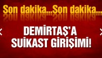 Demirtaş'a suikast düzenlendi