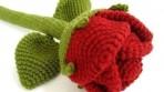 Örgü Dekoratif Çiçek Örnekleri