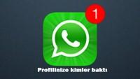 WhatsApp Profilinize Kimin Baktığını Öğrenme Hilesi